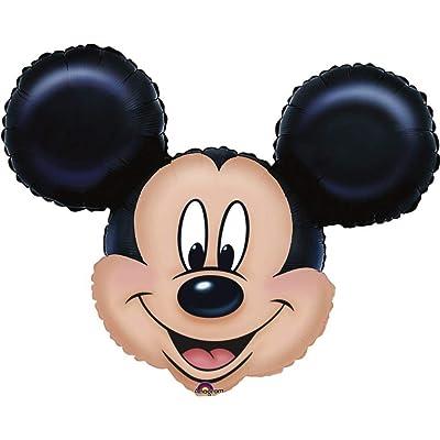 Mickey Mouse Head Mini Shape Balloon: Toys & Games