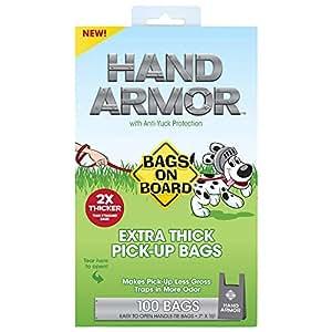 Amazon.com: Bolsas a bordo de la armadura de la mano perro ...