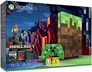 Microsoft Xbox One S Minecraft Limited Edition 1000GB Wifi Multicolor - Videoconsolas (Xbox One S, Multicolor, 8192 MB, DDR3, AMD Jaguar, AMD Radeon): Amazon.es: Videojuegos