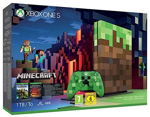 Videoentity.com 51utJj0Y9%2BL Console Videogames Microsoft Xbox One S 1 TB Minecraft Limited Edition