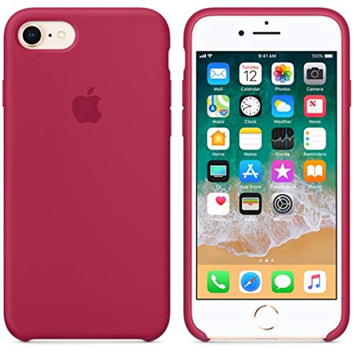 John Compatible for iPhone 8 Case, iPhone 7 Case, Liquid Silicone Case Soft Microfiber Cloth Lining Cushion Compatible with iPhone 7/8 4.7