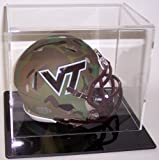 Acrylic Mini Football Helmet Display Case with