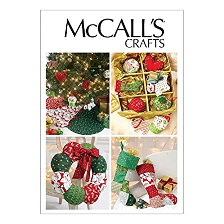 Mccalls Sewing Pattern 6453 Crafts For Christmas Sizes One Size