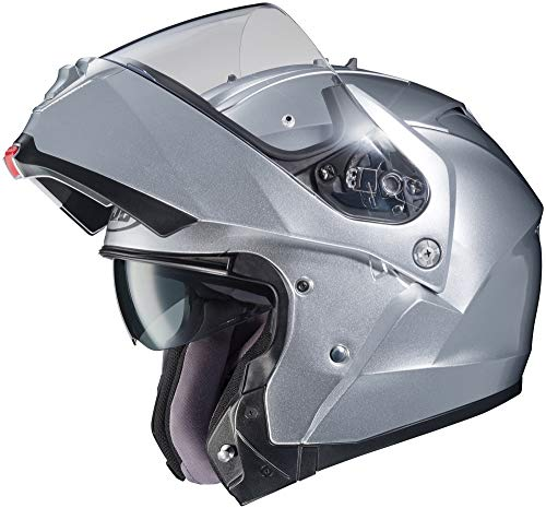 HJC IS-MAX 2 Helmet (Silver, X-Large)