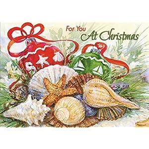 51utKn--UuL._SS300_ Beach Christmas Cards and Nautical Christmas Cards