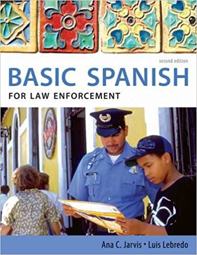 Amazon.com: Basic Spanish for Law Enforcement (9780495902539): Ana ...