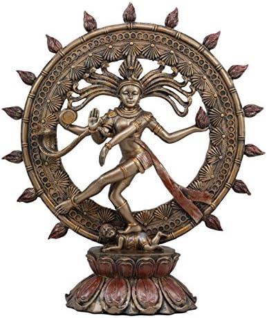 Gifts Decor Ebros Large Hindu Supreme God Shiva Nataraja Statue 15 Tall Cosmic Divine Dancer Tandava Sabesan Liberator of Souls Eastern Enlightenment