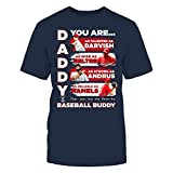 RANGERS - DADDY YOU ARE BASEBALL BUDDY - T-Shirt - Officially Licensed Fashion Sports Apparel