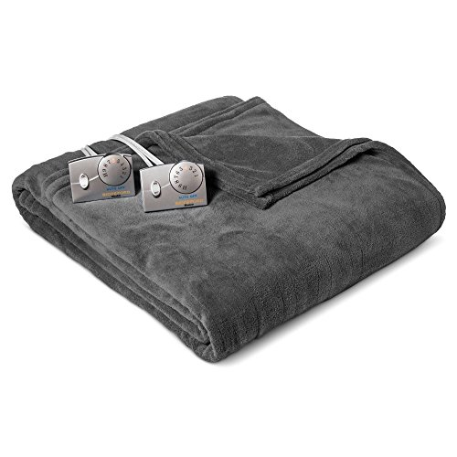 Soft Microplush Electric Heated Blankets By Biddeford Blanke