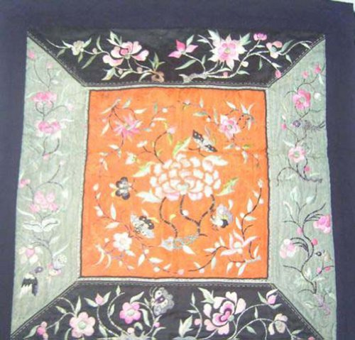 Antique Embroidery Textile Art Miao Hmong Costume #186 by Interact China