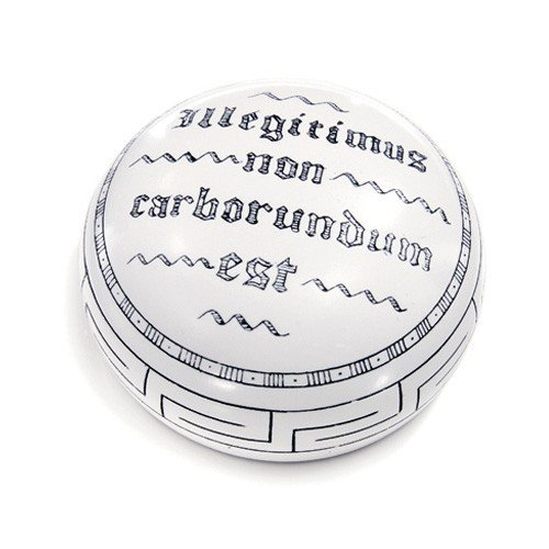 Desk Gift''illegitimus Non carborundum'' translates''Don't Let The Bastards Grind You Down.'' by King Products