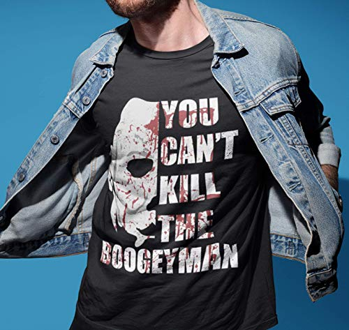 You Can't Kill The Boogeyman Shirts Michael Horror Movie Halloween Bloody Customized Handmade T-Shirt Hoodie/Long Sleeve/Tank Top/Sweatshirt]()