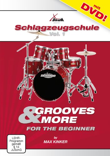Max Kinker Grooves and More for the Beginner Drum school + DVD