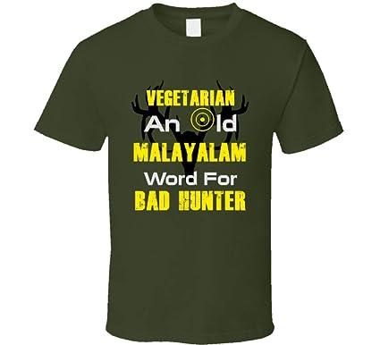 Amazoncom Malayalam Hunter Funny Vegetarian Parody Hunting