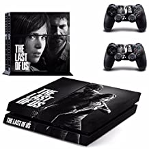 THE LAST OF US PS4 Cover Protection Decal Skin Sticker For Playstation 4 Console + 2 Controllers