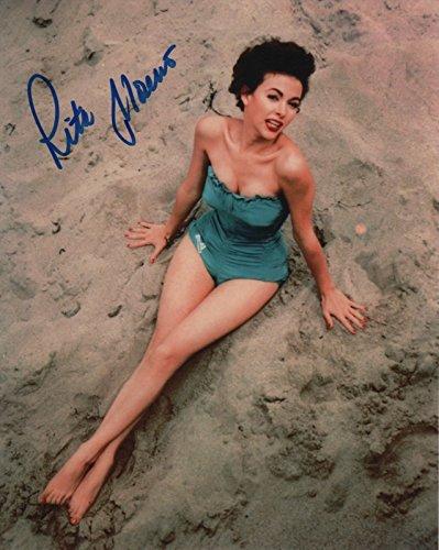 Rita Moreno actress REAL hand SIGNED 8x10 Photo #1 COA Autographed Actress Real Photo