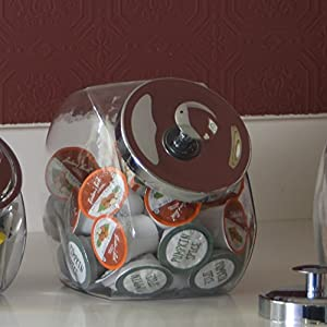 Anchor Hocking Penny Candy Glass Jar Storage Container With Lid 1 Gallon Set Of 2 from Anchor Hocking