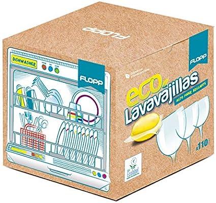 FLOPP - Lavavajillas Ecológico, | Cápsulas Lavavajillas Eco Brillo ...