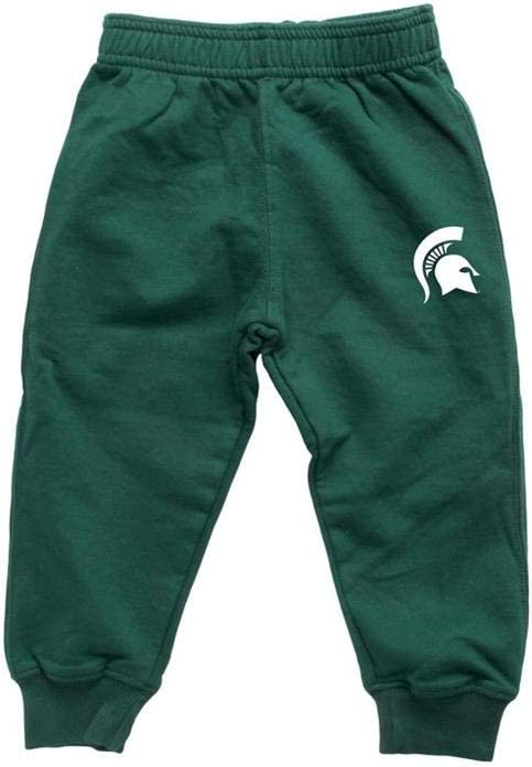 Infant//Toddler Raglan Michigan State University Hoodie and Pant Set