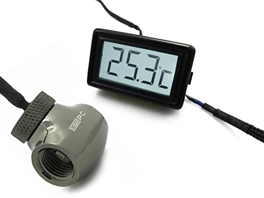 13 opinioni per XSPC 5060175584342 Interno Incasso Cablato sensore di temperatura e umidità