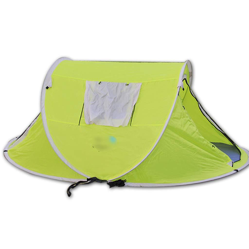 YaNanHome Zelt Zelt Zelt Geschwindigkeit Zelt 2-3 Personen wild Camping Zelt Bergsteigen Zelt Paar Zelt (Farbe : Grün, Größe : 200  200  150cm)