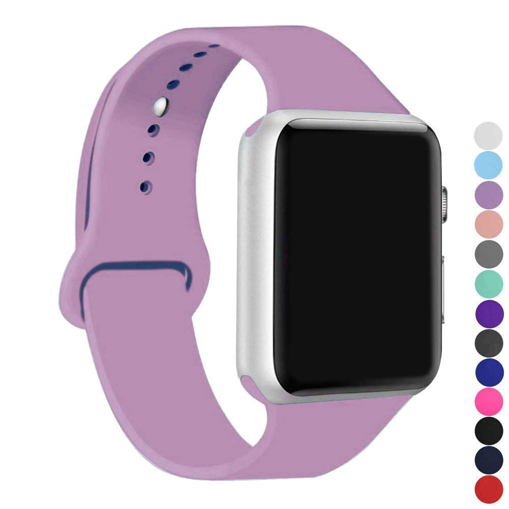 Malla Silicona para Apple Watch (38/40mm) IC6SPACE [H1WG615]
