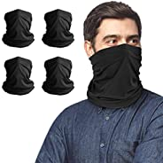 VULKIT Neck Gaiter Cool Bandana Face Cover Scarf for Men or Women Seamless Balaclava for Cycling fishing