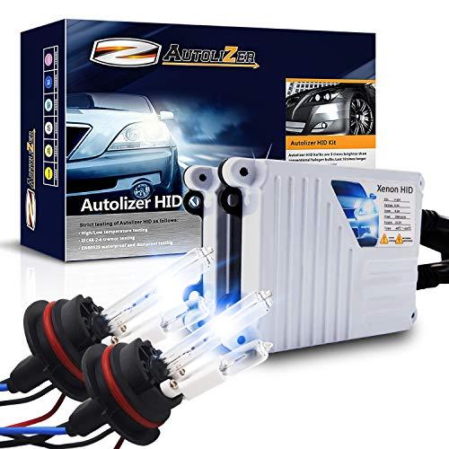 - Autolizer 55W Xenon HID Lights [9007 9004 HB5-10000K Deep Blue] (Hi Lo) Halogen