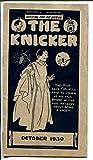 The Kicker 10/1930-pre comic book promo giveaway-Halloween-3 3/4 X 6 3/4-VG