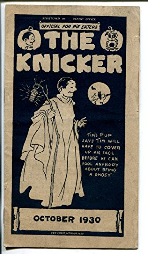 The Kicker 10/1930-pre comic book promo giveaway-Halloween-3 3/4 X 6 3/4-VG