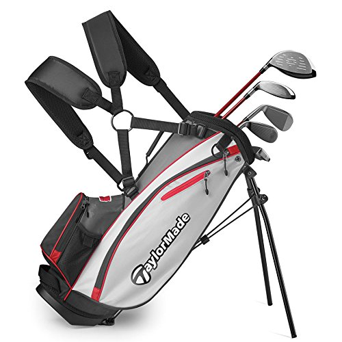 TaylorMade Complete Youth Set W Bag Phenom K40 6Pc/RH R (Unisex, , Graphite Hybrids with Steel Irons)