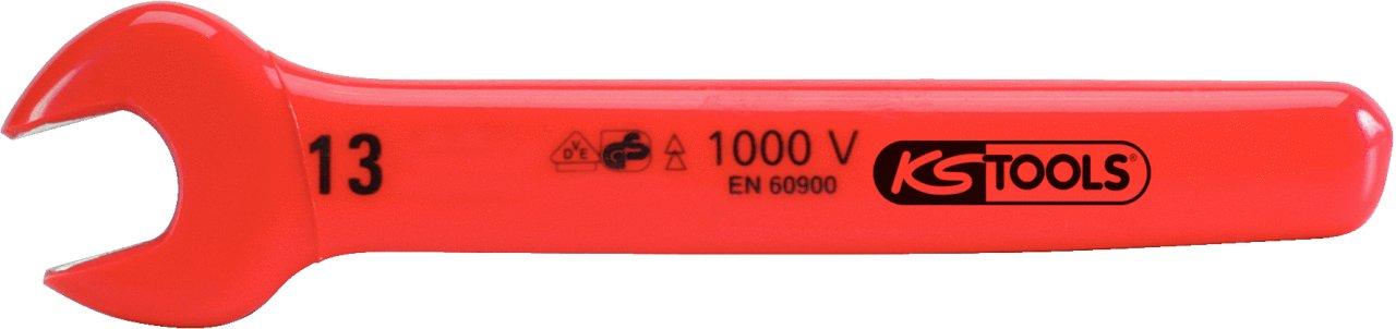 Cl/é /à fourche plate isol/ée /Ø10 mm