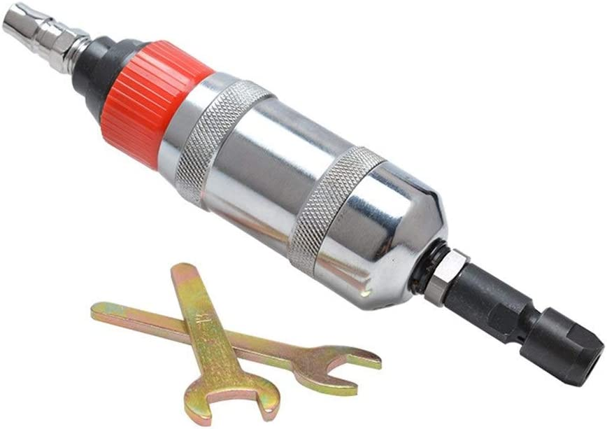 Pneumatic Straight Grinder Hand-held 6mm Engraving Machine Hand Tools Industrial Portable Practica Pneumatic Products Powerful Pneumatic Grinder