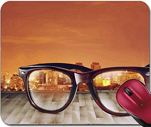 Liili Mousepad IMAGE ID 32524195 City Refect on Sunglass - Prices Best Sunglasses On