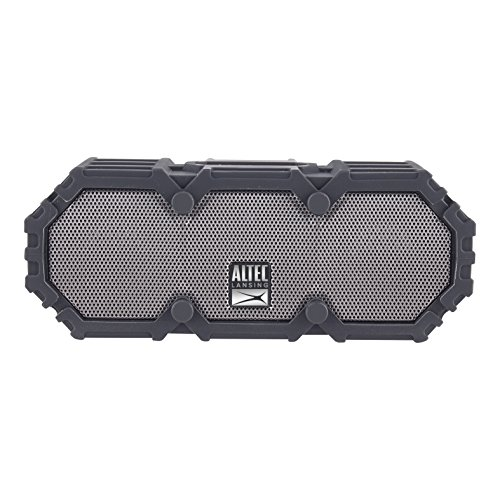 Altec Lansing IMW478s Mini LifeJacket-3 Bluetooth Speaker Waterproof, Black