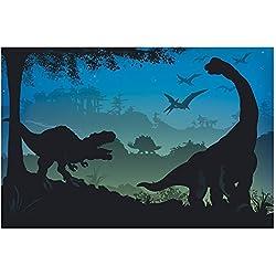 Prehistoric Dinosaur Party Decoration Prop Wall Mural Backdrop