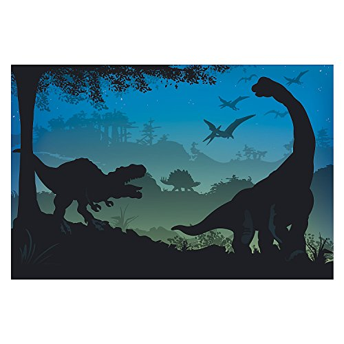 Prehistoric Dinosaur Party Decoration Prop Wall Mural Backdrop