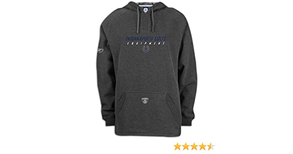 Amazon.com  Colts Reebok NFL Equipment Sueded Hoody - Men s ( sz. XL ... 2048728c3