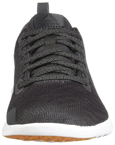 Reebok Womens Astroride Walking Shoe Carbone / Bianco