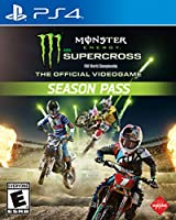 Monster Energy Supercross: The Official Videogame Season Pass - PS4 [Digital Code] from Square Enix