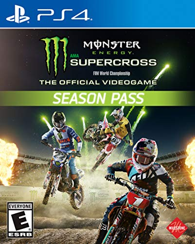 Monster Energy Supercross: The Official Videogame Season Pass - PS4 [Digital Code] by Square Enix