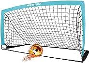Soccer Net Kids Mini Soccer Goal for Backyard Training 6'×3'