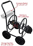 Mobile Garden Hose Reel Cart up to 225' X 5/8''