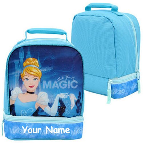 Personalized Cinderella Back to School Lunchbox Lunch Bag