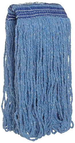 Blend Blue (Rubbermaid Commercial Products FGE23600BL00 Universal Headband Blue Blend Mop, 16 oz (Pack of 12))