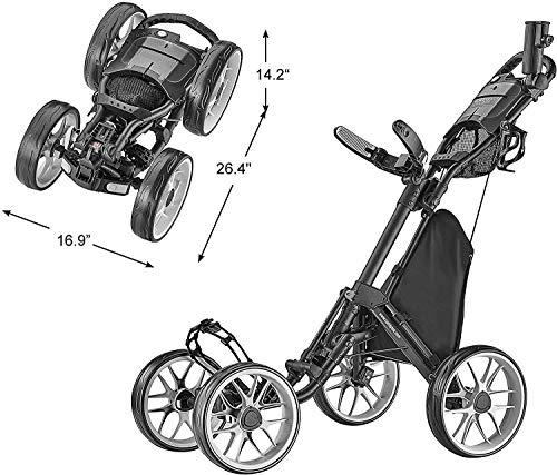 CaddyTek 4 Wheel Golf