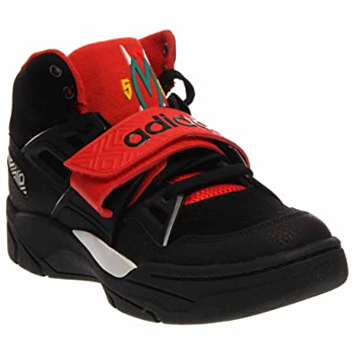 adidas shoes high tops red. adidas mens mutombo tr block shoes #98038 (blk/blk/hi res red high tops