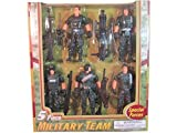 detailed toy soldiers - Special Forces Five Piece Military Team by Polyfect Toys