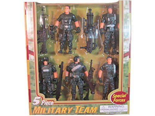 - Special Forces Five Piece Military Team by Polyfect Toys