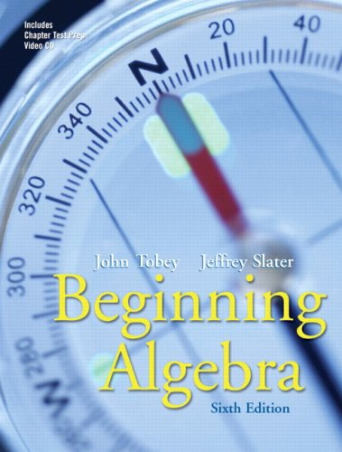 Beginning Algebra Value Pack (includes Beginning Algebra Student Study Pack & MyMathLab/MyStatLab Student Access Kit